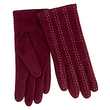 Buy Unmade  Pintuck Stitch Gloves Online at johnlewis.com