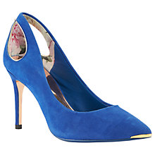 Buy Ted Baker Jesamin Cut Out Stiletto Heeled Court Shoes Online at johnlewis.com