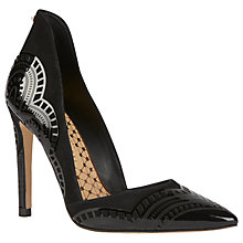 Buy Ted Baker Kwistina Pointed Toe Court Shoes Online at johnlewis.com