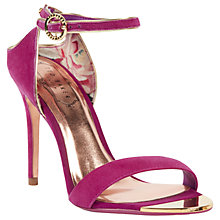 Buy Ted Baker Mirobell Stiletto Heeled Sandals Online at johnlewis.com