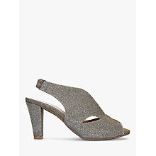 Buy Carvela Comfort Arabella Cone Heel Open Toe Court Shoes Online at johnlewis.com