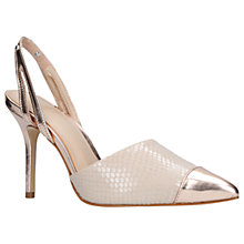 Buy KG by Kurt Geiger Bree Slingback Court Shoes Online at johnlewis.com