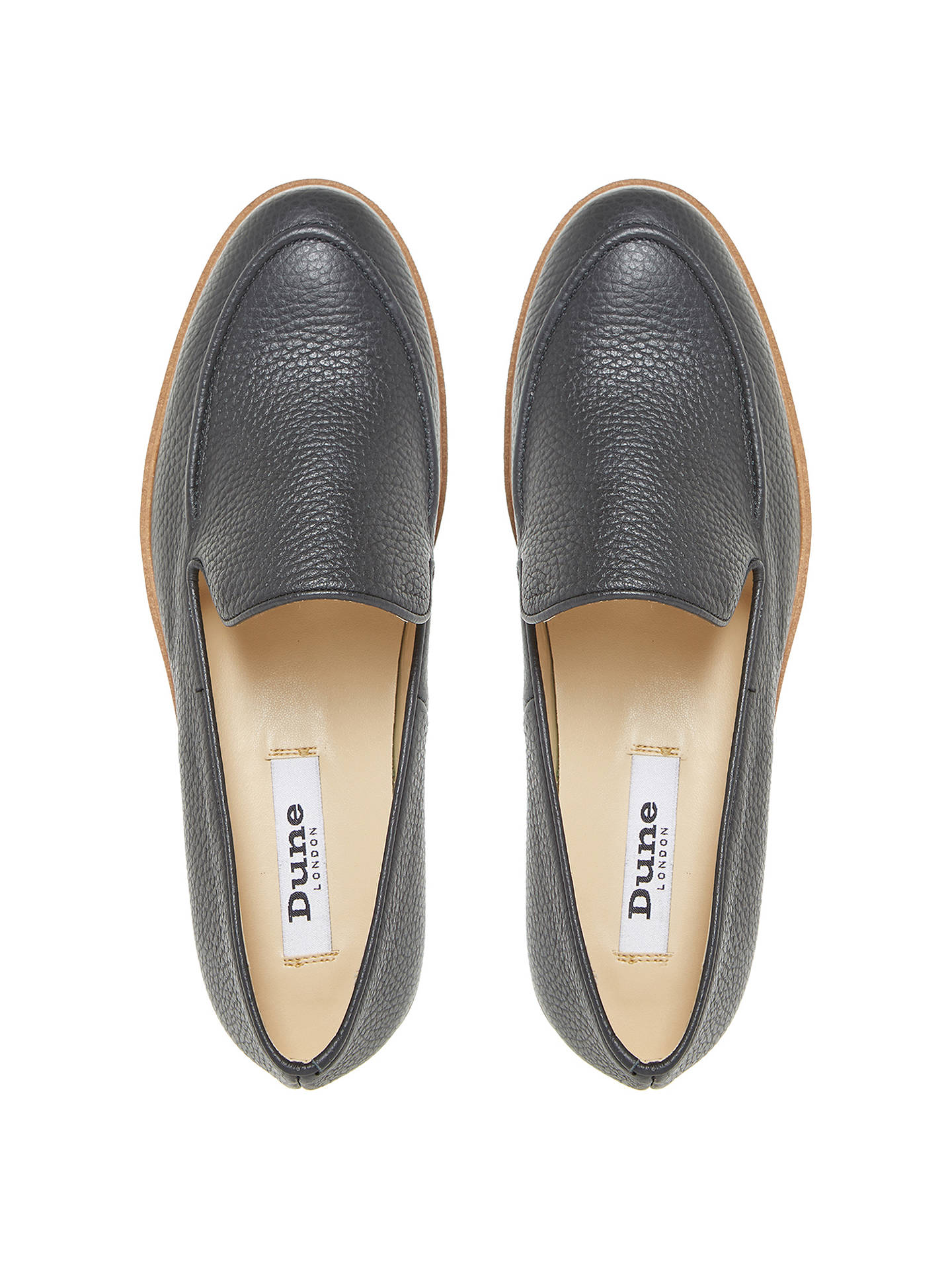 90f49421a4611 Dune Genesis Flatform Loafers at John Lewis   Partners