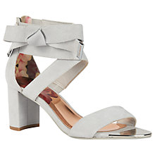 Buy Ted Baker Noxen Cross Strap Bow Sandals Online at johnlewis.com
