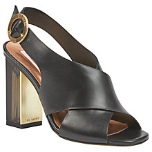 Buy Ted Baker Naiyse Block Heeled Sandals Online at johnlewis.com