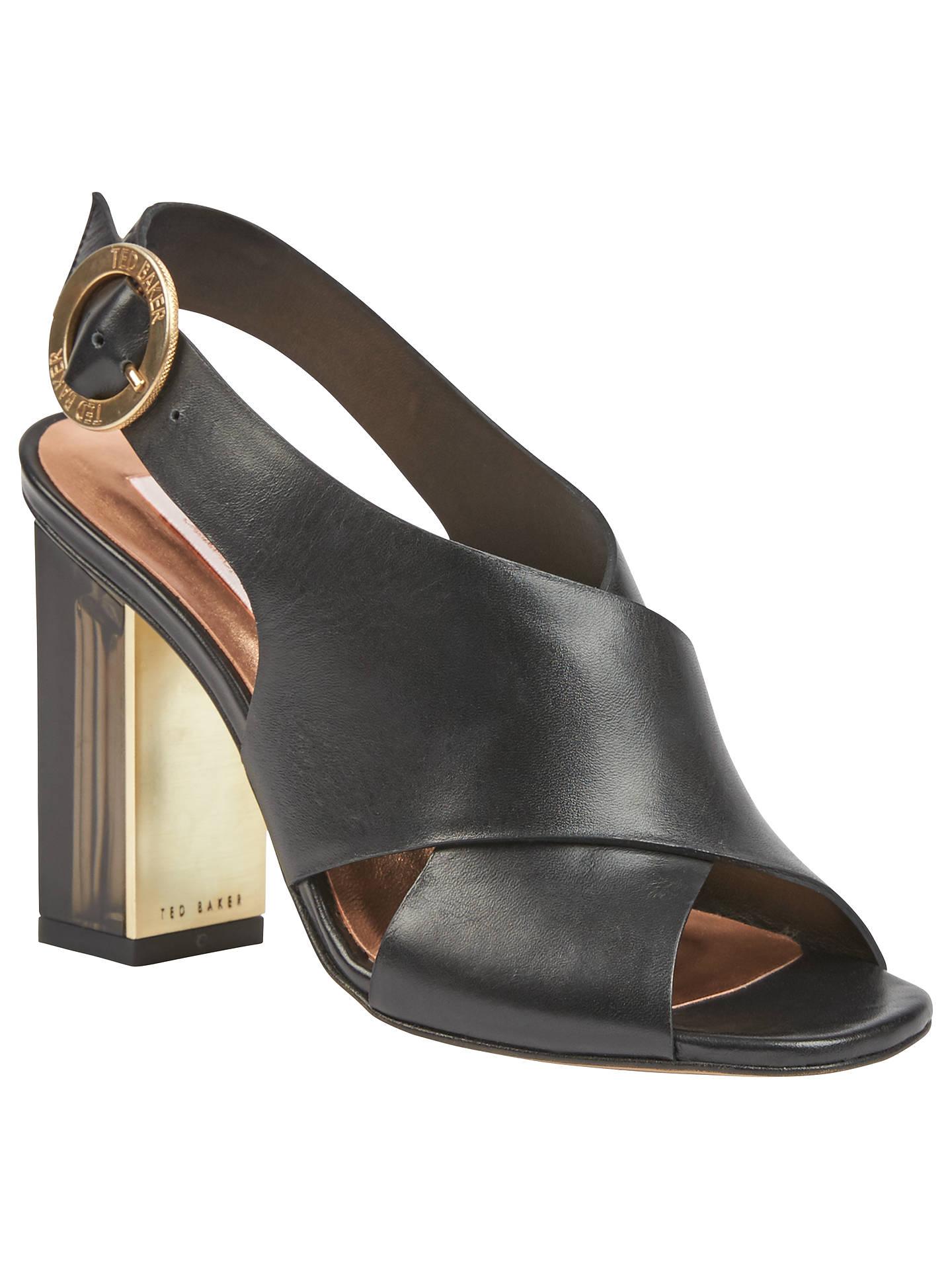 dc96e4d89 Ted Baker Naiyse Block Heeled Sandals at John Lewis   Partners