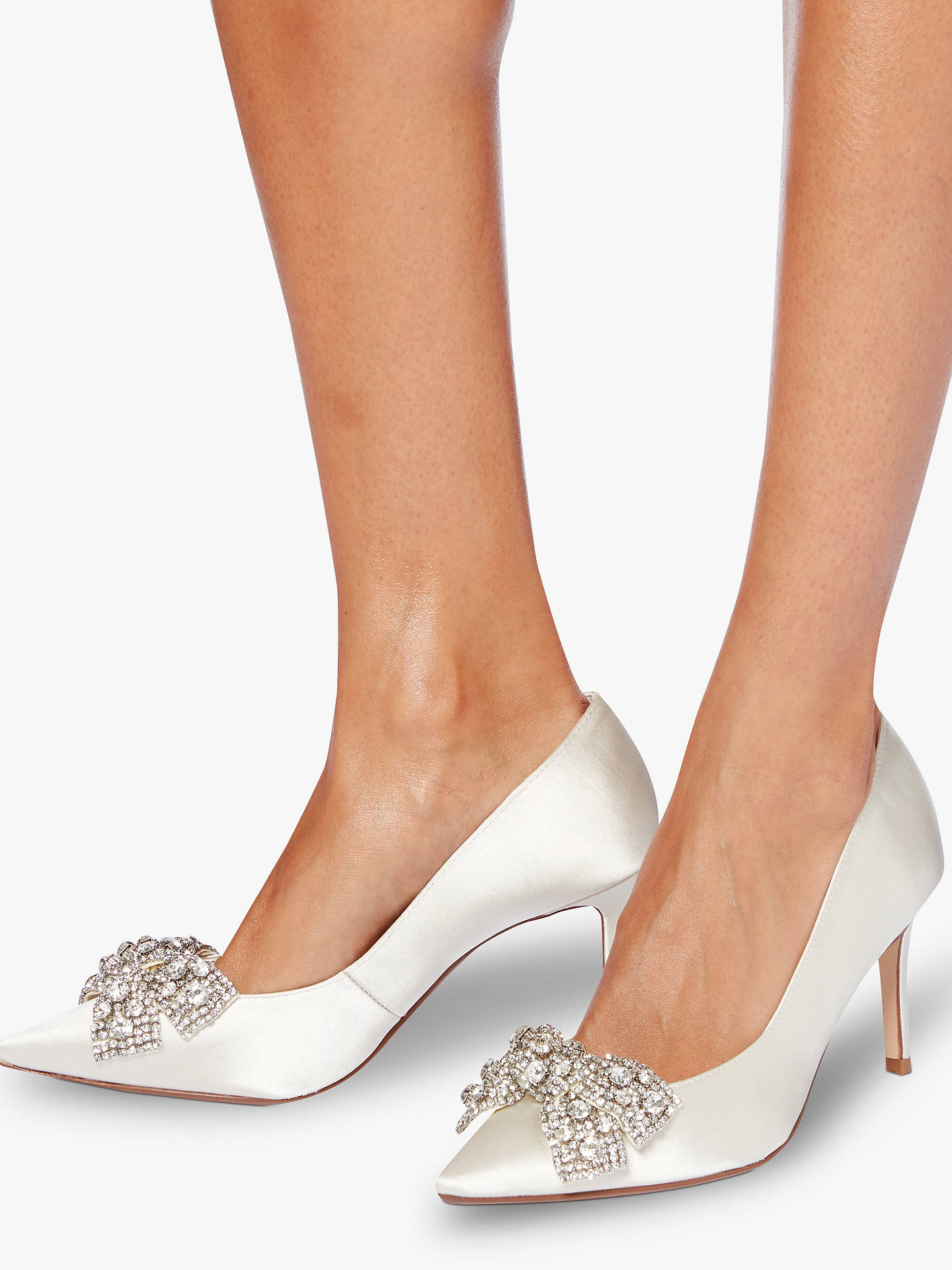 cb885bed525 ... Buy Dune Bridal Collection Beaubelle Stiletto Heeled Court Shoes