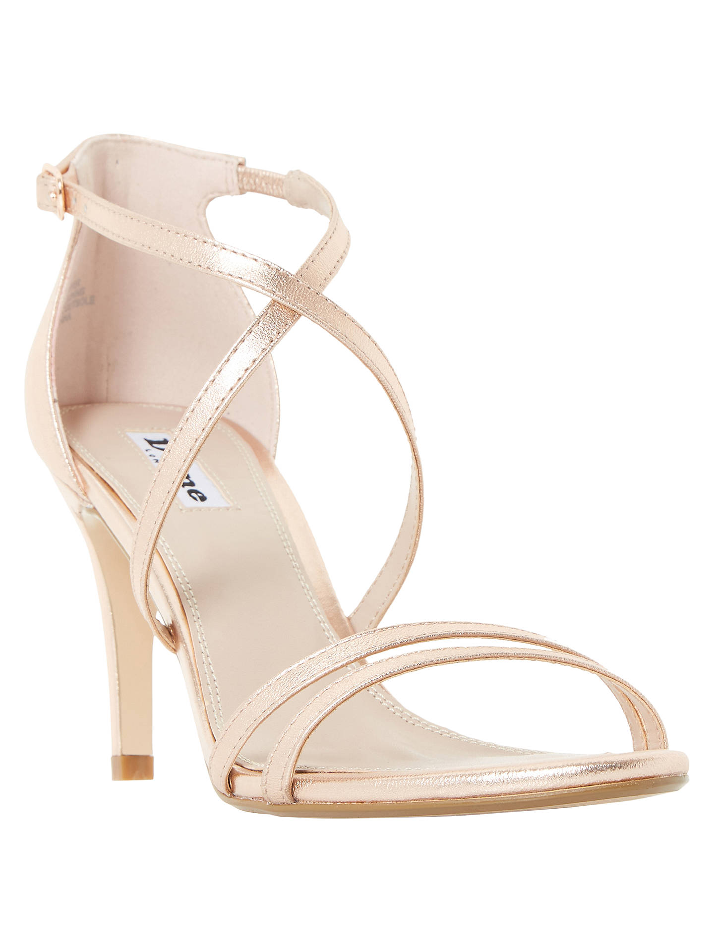 75fd656daf68 Buy Dune Mariela Cross Strap Stiletto Heeled Sandals