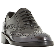 Buy Dune Black Fariston Lace Up Brogues Online at johnlewis.com