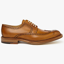 Buy John Lewis Made in England Bradenham Derby Brogues, Tan Online at johnlewis.com