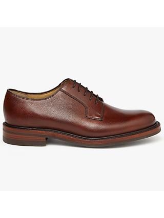 John Lewis & Partners Made in England Chastleton Derby Shoes, Brown