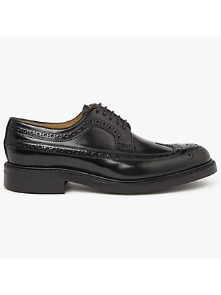 John Lewis & Partners Made in England Ascott Derby Brogues, Black