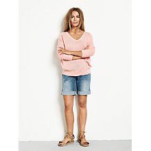 Buy hush Linen V Jumper Online at johnlewis.com
