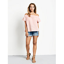Buy hush Lotus Top, Coral Online at johnlewis.com