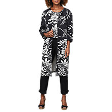 Buy East Linen Victoire Yumiko Coat, Black Online at johnlewis.com