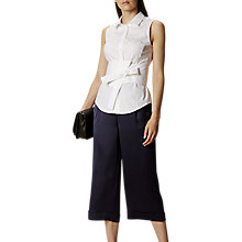 Buy Karen Millen Deconstructed Shirt, White Online at johnlewis.com