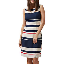 Buy Jolie Moi Eliza Stripe Shift Dress, Multi Online at johnlewis.com