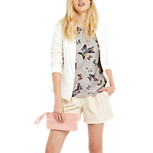 Buy Oasis Everly Butterfly Lace Top, Multi/Grey Online at johnlewis.com