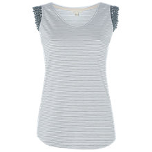 Buy White Stuff Lilly Vest, Grey Online at johnlewis.com