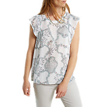 Buy White Stuff Valley Top, White Online at johnlewis.com