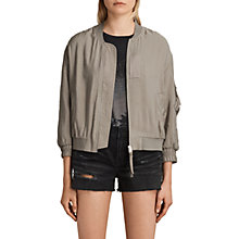 Buy AllSaints Angie Light Bomber Online at johnlewis.com