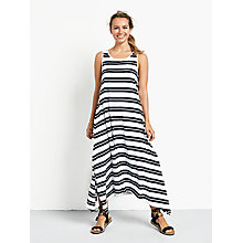 Buy hush Striped Piper Dress, White/Black Online at johnlewis.com