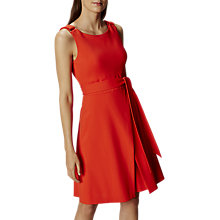 Buy Karen Millen Colour Pop Dress, Orange Online at johnlewis.com