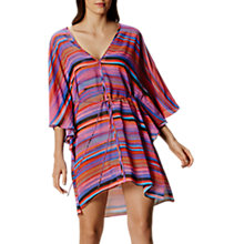 Buy Karen Millen Painterly Stripe Kaftan, Multi Online at johnlewis.com