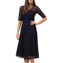 Buy Jolie Moi Imelda Lace Dress, Navy Online at johnlewis.com