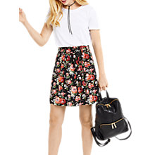 Buy Oasis Paperbag Rose Skirt, Multi Online at johnlewis.com