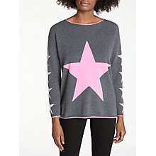 Buy Cocoa Cashmere Star Cashmere Jumper Online at johnlewis.com