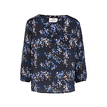 Buy Pyrus Grace Printed Silk Blouse, Valencia Floral Online at johnlewis.com