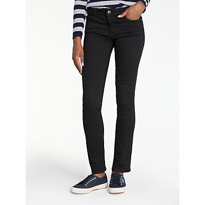 DL1961 Mid Rise Straight Leg Jeans, Night Watch