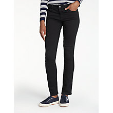 Buy DL1961 Mid Rise Straight Leg Jeans, Night Watch Online at johnlewis.com