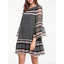 Buy Max Studio Geo Print Dress, Black/Multi Online at johnlewis.com