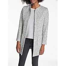 Buy Helene For Denim Wardrobe Alice Jacket, Grey/Ivory Online at johnlewis.com