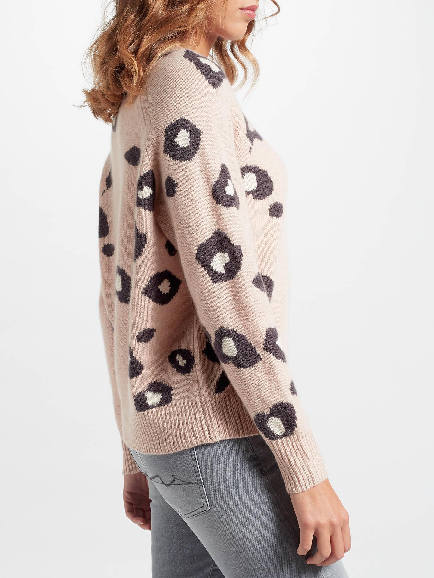360 Sweater Courtney Cashmere Jumper, Rose Quartz at John