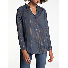 Buy Pyrus Titan Shirt, Navy Stripe Online at johnlewis.com