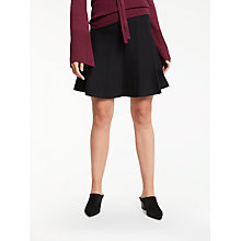 Buy Max Studio Cable Knit Skirt, Black Online at johnlewis.com