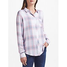 Buy Rails Hunter Check Shirt, White Peony Online at johnlewis.com