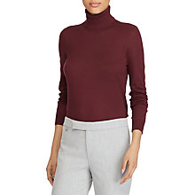 Buy Lauren Ralph Lauren Zoe Jumper, Red Sangria Online at johnlewis.com