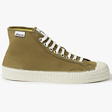 Buy Novesta Star Dribble Hi-Top Canvas Trainers Online at johnlewis.com