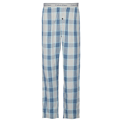 Calvin Klein Laudette Plaid Lounge Pants, Grey
