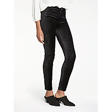 Buy Paige Hoxton High Rise Skinny Velvet Jeans Online at johnlewis.com