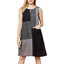 Buy East Mangalagiri Shift Dress, Black Online at johnlewis.com