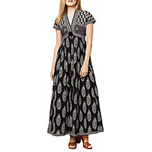 Buy East Anokhi Bamza Print Maxi Dress, Black Online at johnlewis.com