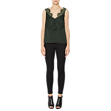 Buy French Connection Crop Sleeveless V-Neck Top Online at johnlewis.com
