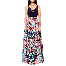 Buy Ted Baker Frelan Mirrored Maxi Skirt, Multi Online at johnlewis.com