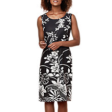 Buy East Linen Victoire Yumiko Dress, Black Online at johnlewis.com