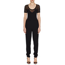 Buy French Connection Francis Beau Jumpsuit, Black Online at johnlewis.com